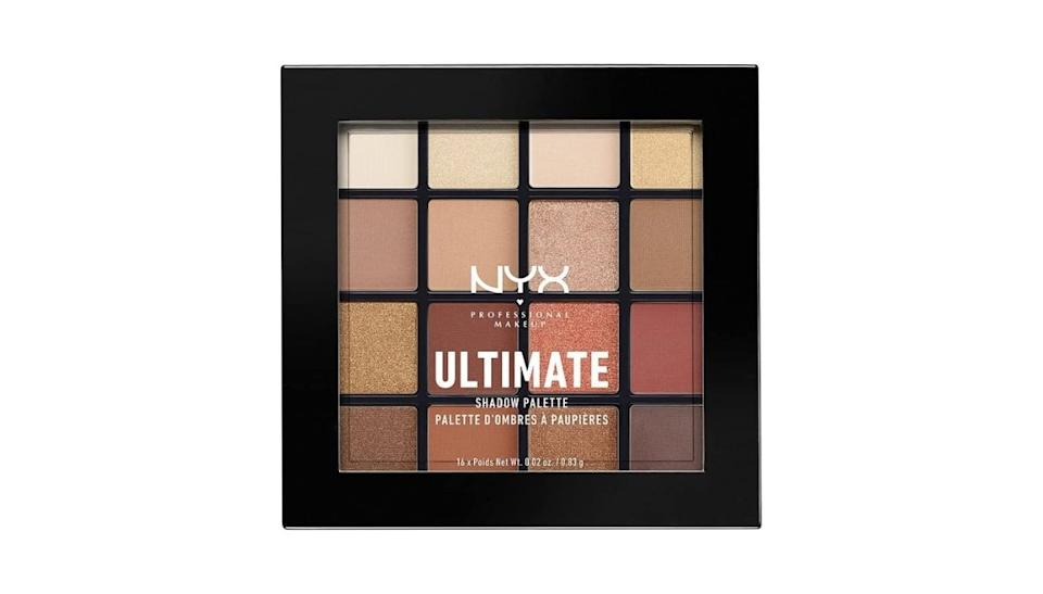 NYX Professional Makeup, Palette Ombretti Ultimate Shadow
