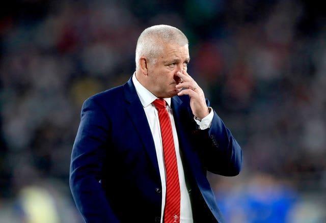 British and Irish Lions head coach Warren Gatland is contemplating his selection options