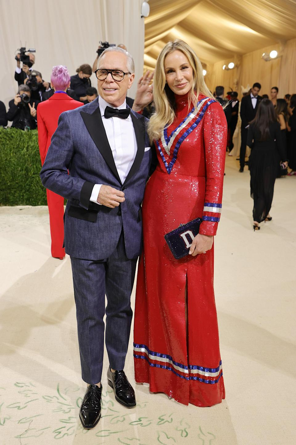 """<h1 class=""""title"""">Tommy Hilfiger and Dee Hilfiger, The 2021 Met Gala Celebrating In America: A Lexicon Of Fashion - Arrivals</h1><cite class=""""credit"""">Getty</cite>"""