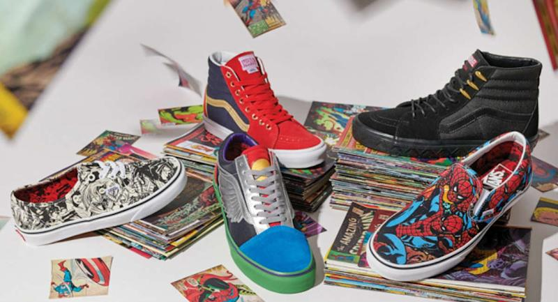 7f7ff177c560e9 Marvel Teamed Up With Vans to Make Kids Feel Like a Superheroes