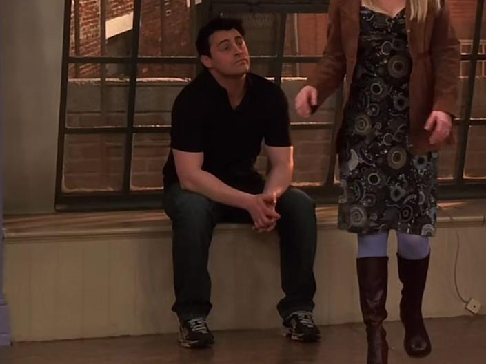 Joey wore plenty of black throughout the series.