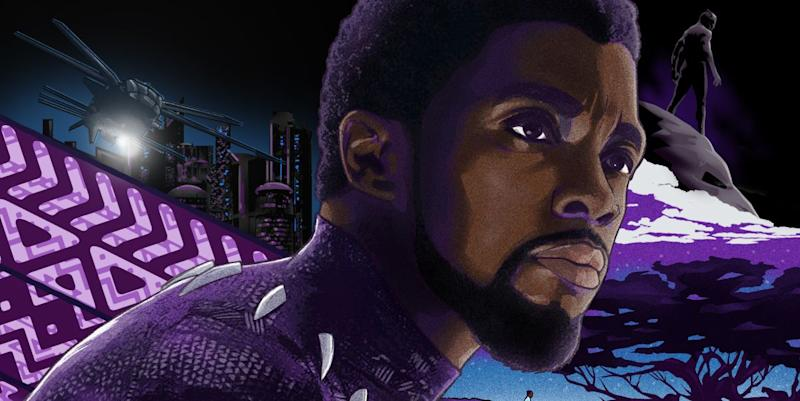 Photo credit: Digital Spy / Kingsley Nebechi / Black Panther fan art illustration not produced in association with Marvel.