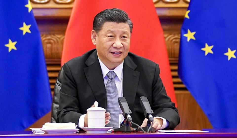 Chinese President Xi Jinping took part in a videoconference on Wednesday to finalise the investment deal. Photo: Xinhua