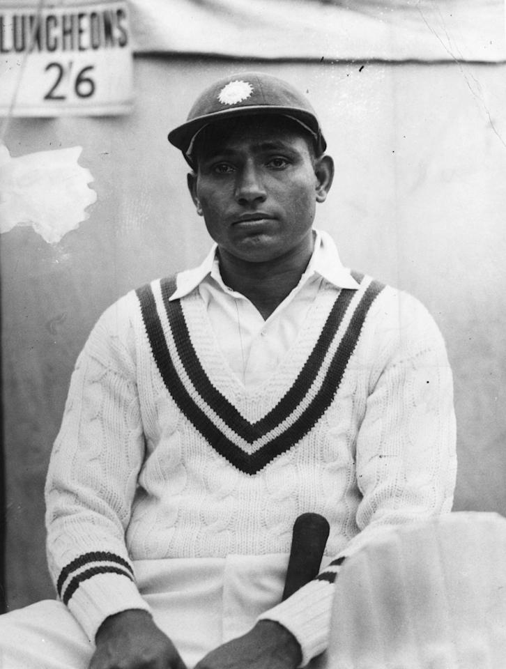 30 Apr 1936:  A portrait of Lala Amamath of India. Mandatory Credit: Allsport/ALLSPORT
