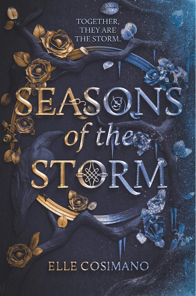 """<p><a href=""""https://www.popsugar.com/buy?url=http%3A%2F%2Fwww.amazon.com%2FSeasons-Storm-Elle-Cosimano%2Fdp%2F0062854240%2F&p_name=Seasons%20of%20the%20Storm&retailer=amazon.com&evar1=buzz%3Aus&evar9=47536491&evar98=https%3A%2F%2Fwww.popsugar.com%2Fphoto-gallery%2F47536491%2Fimage%2F47536539%2FSeasons-Storm-by-Elle-Cosimano&prop13=api&pdata=1"""" rel=""""nofollow"""" data-shoppable-link=""""1"""" target=""""_blank"""" class=""""ga-track"""" data-ga-category=""""Related"""" data-ga-label=""""http://www.amazon.com/Seasons-Storm-Elle-Cosimano/dp/0062854240/"""" data-ga-action=""""In-Line Links"""">Seasons of the Storm</a> by Elle Cosimano is the first novel in a fantasy duology, telling the story of Jack Sommers, a man who is given the choice to live forever, but only if he becomes the immortal, physical embodiment of winter. Each season is tasked with killing the season that becomes before it, which means winter kills autumn and spring kills winter - but that becomes difficult after Jack falls for a spring named Fleur. </p> <p><em>Out June 23</em></p>"""