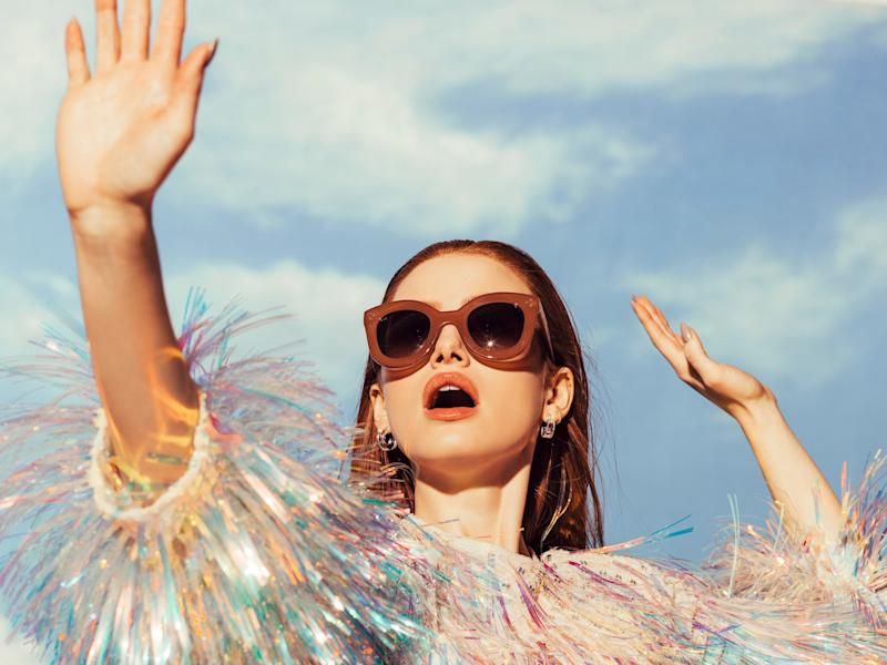 fc9e4f476eba3 Riverdale Star Madelaine Petsch Used Cheryl Blossom as Inspiration for New Sunglasses  Collection
