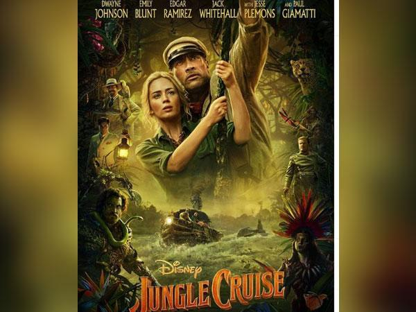 Poster of the movie 'Jungle Cruise' (Image Source: Instagram)