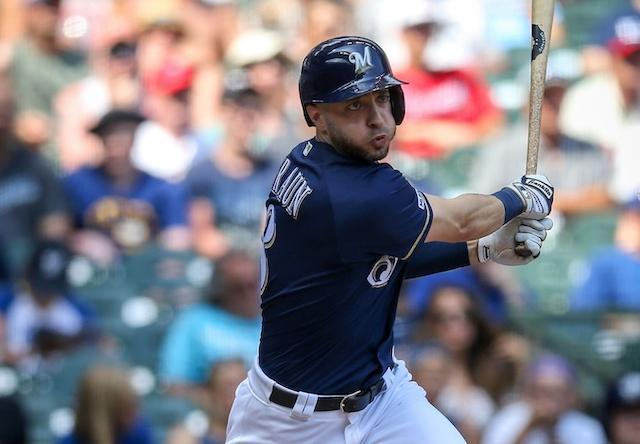 Brewers' Ryan Braun Attempting To Replicate Dodgers' Cody Bellinger's Batting Stance After Watching MLB Network Segment
