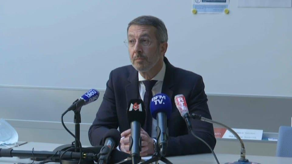 Me William Pinneau, avocat des parents de Magali Blandin.  - BFMTV