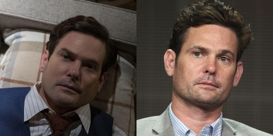 <p>Famous for playing Elliott in <em>E.T.</em>, Henry Thomas plays Henry Wingrave in <em>The Haunting of Bly Manor</em>. He appeared in <em>The Haunting of Hill House</em> as the young Hugh Crain, and will be seen next alongside Rahul Kohli in <em>Midnight Mass</em>.</p>
