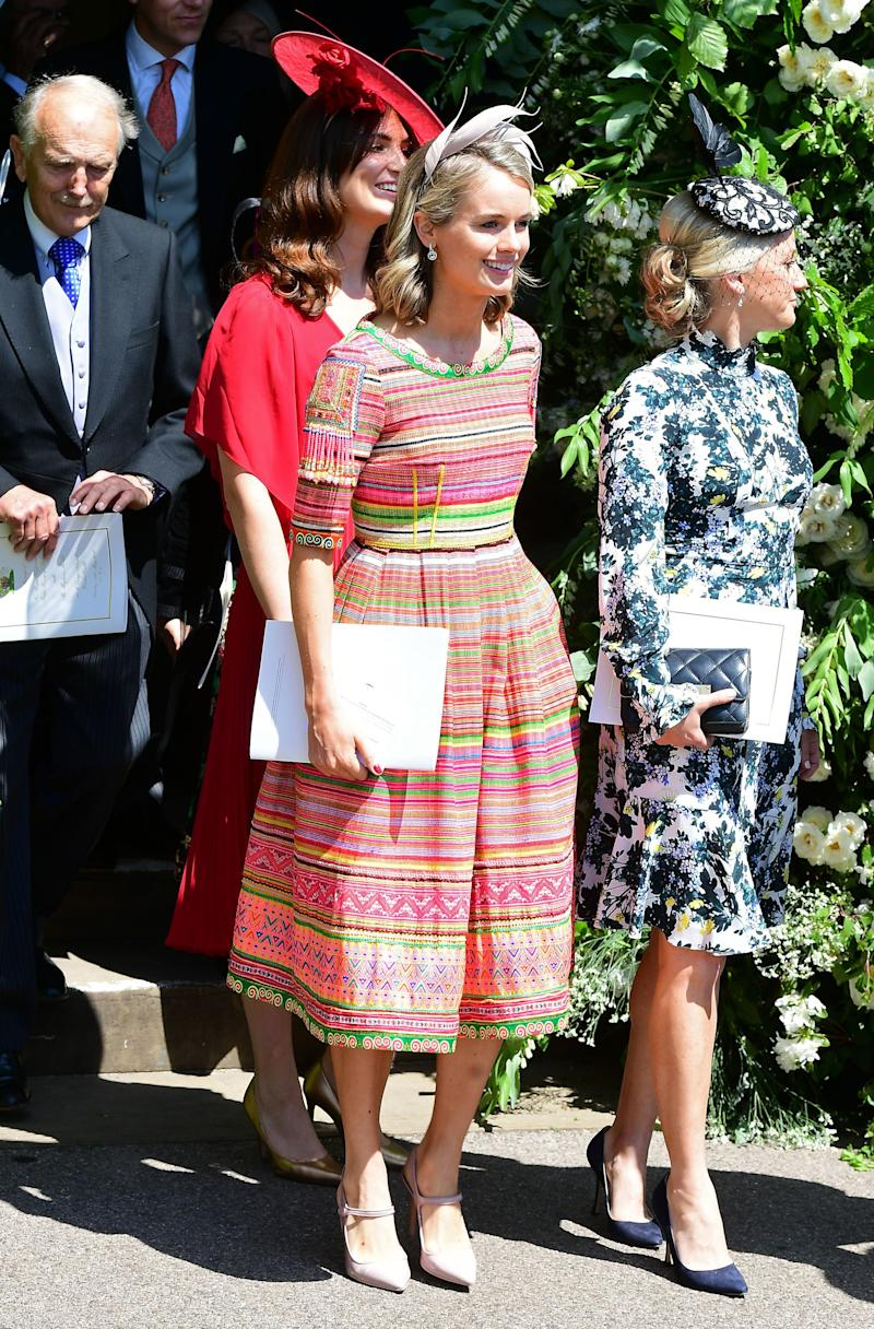 Cressida attended the duke and duchess' royal wedding in May 2018. Photo: Getty Images