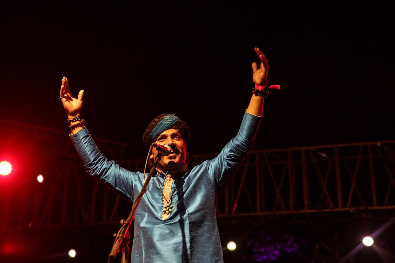 <p>Kutle Khan at the Beantown Backyard Festival </p>