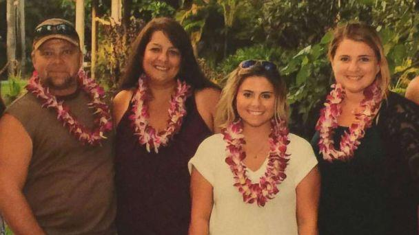 PHOTO: Dorene Anderson, second from left, is pictured with her husband and two daughters. Anderson was one of the people killed in Las Vegas after a gunman opened fire, Oct. 1, 2017, at a country music festival. (Facebook )