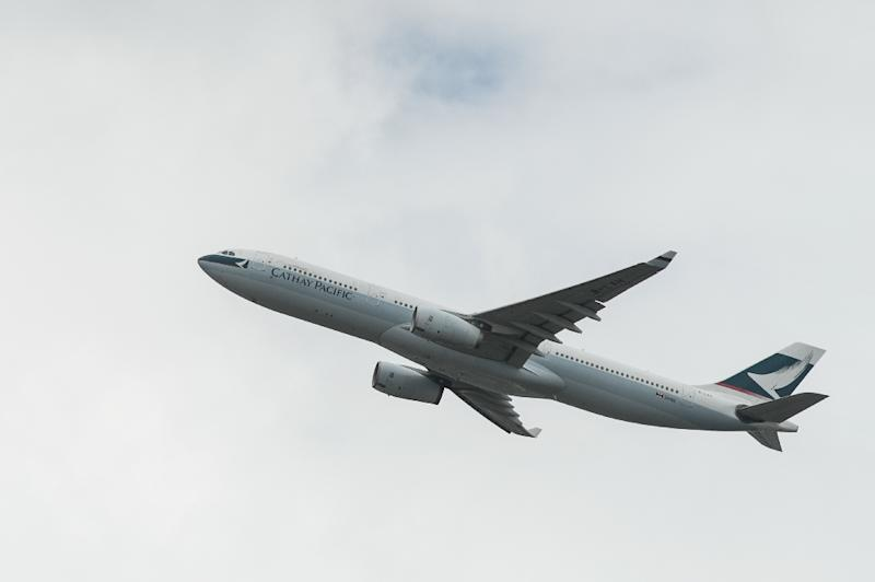 Cathay Pacific is to use biofuels made from landfill rubbish on flights from the US to Hong Kong