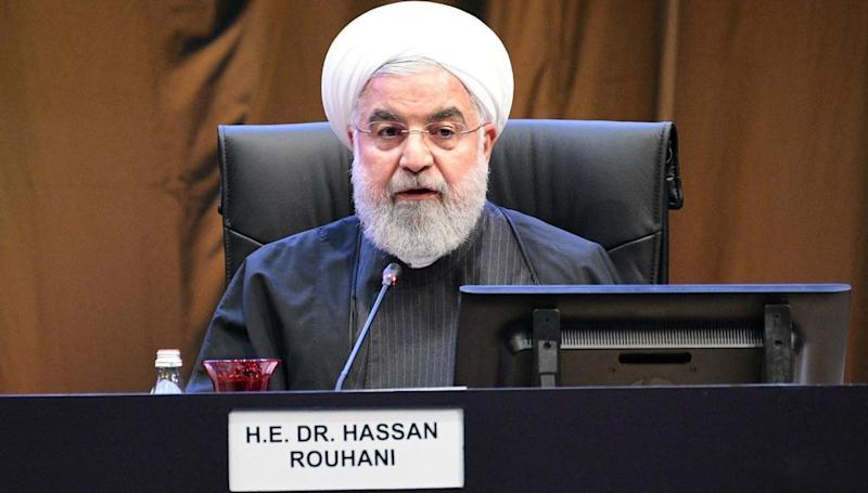 Iran's Rouhani: nation 'will never seek nuclear weapons', with or without 2015 deal in place