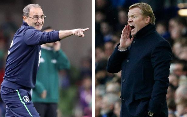 O'Neill and Koeman continue their war of words