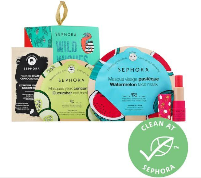 """Get this <a href=""""https://fave.co/2TA9sfU"""" target=""""_blank"""" rel=""""noopener noreferrer"""">Sephora Collection Skincare Surprise Set on sale</a>(normally $10) during Sephora's Holiday Savings Eventwith code<strong>HOLIDAYFUN</strong>at checkout."""