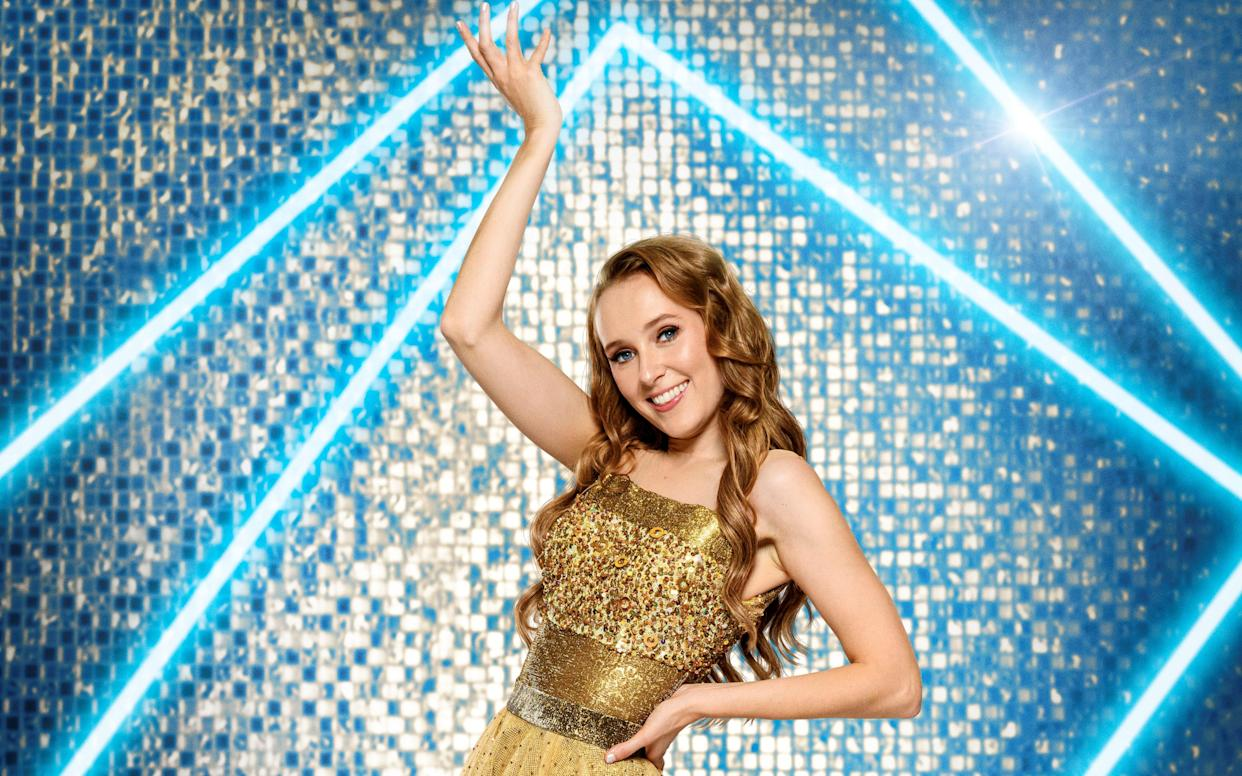 Rose Ayling-Ellis is the first profoundly deaf contestant to take part in 'Strictly Come Dancing'. (BBC)
