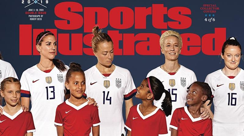 53dd88513 Here s How to Get Sports Illustrated s New USWNT Covers for the 2019 World  Cup