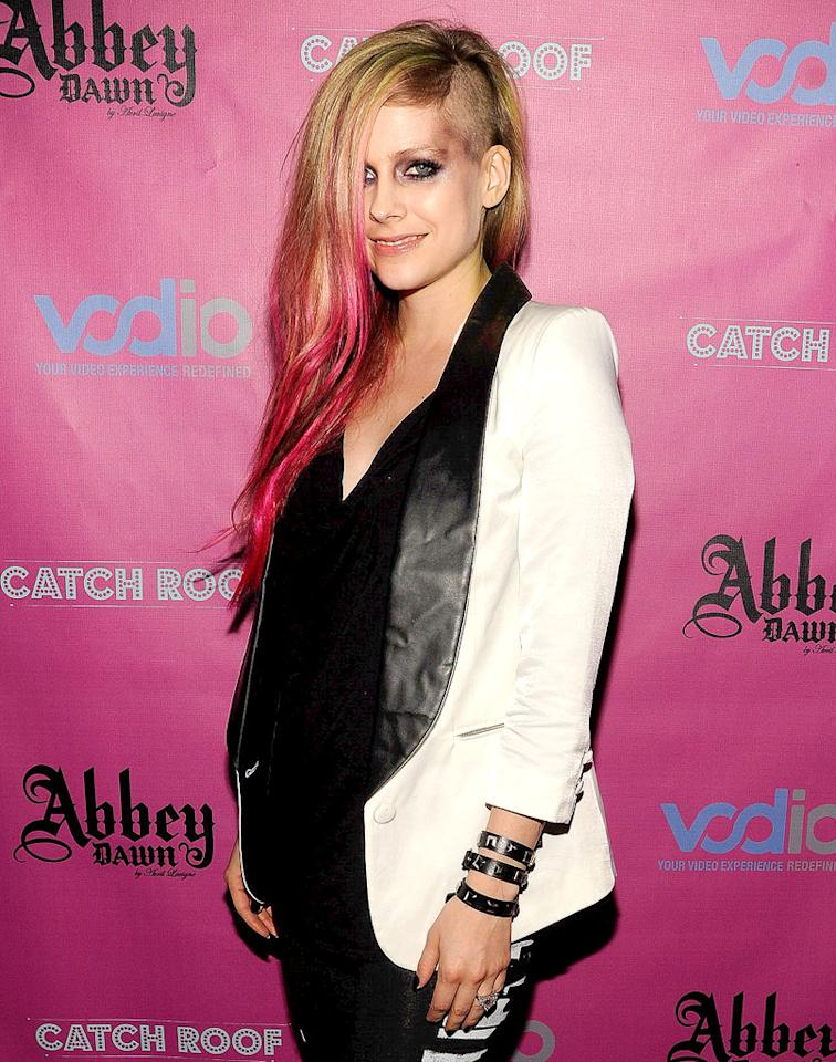Avril Lavigne turns 28 on September 27.