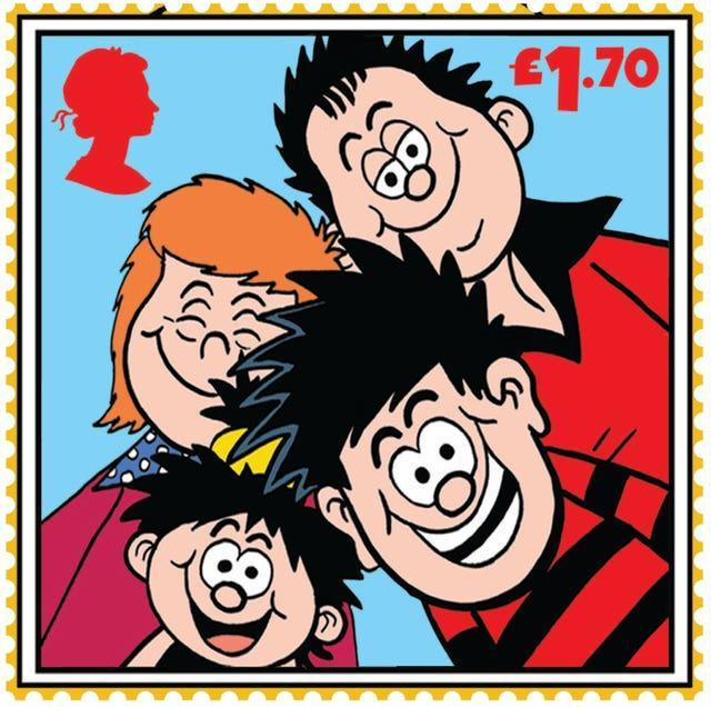 Beano stamps