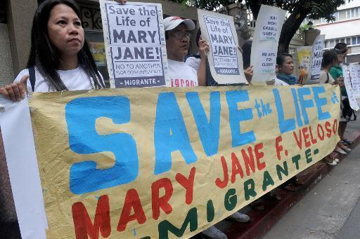 Death row Filipina's family begs Indonesia for her life