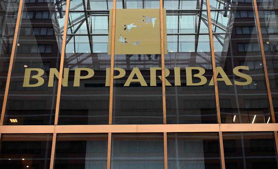 BNP shares have reached an all-week high following its Q3 report. Photo: Angela Weiss/AFP