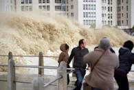 Rising seas intensify floods, while the warmer water stirs up bigger storms