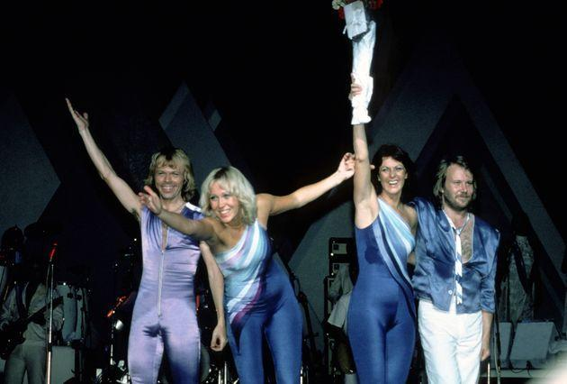 ABBA performing in New York back in 1979 (Photo: Images Press via Getty Images)