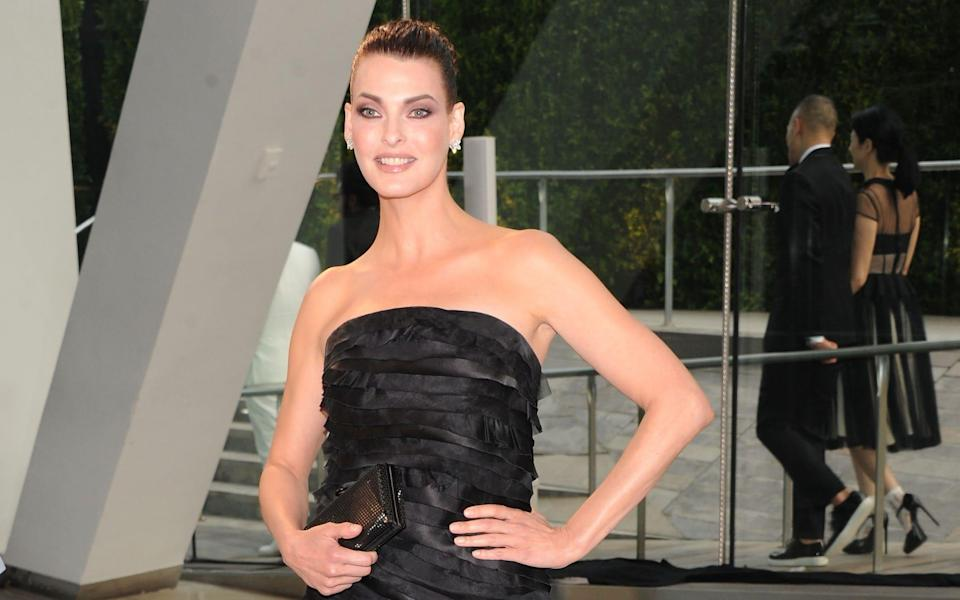 Linda Evangelista, pictured here in 2003, was one of the first supermodels - Jamie McCarthy