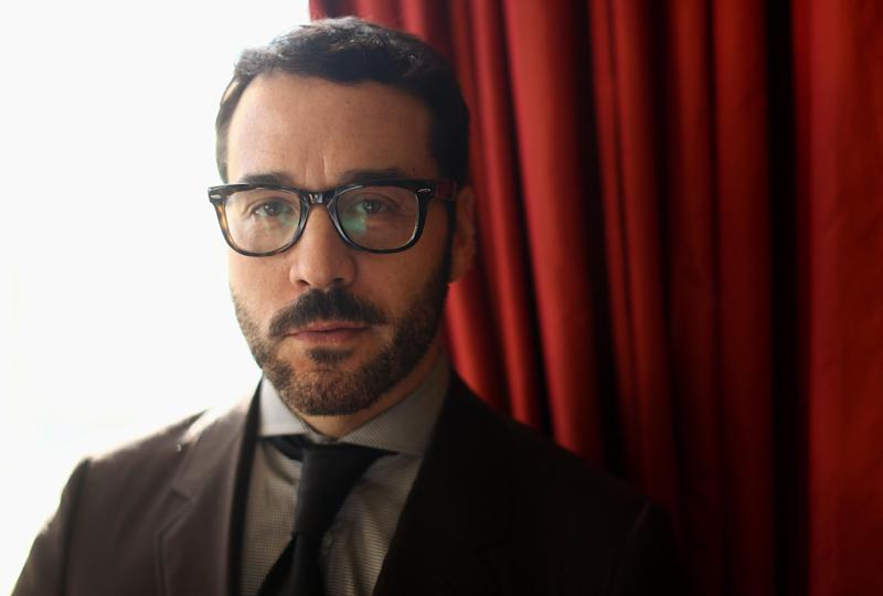 "In this Jan. 15, 2013 photo, actor Jeremy Piven, from the television series ""Mr. Selfridge,"" poses for a portrait during the PBS Winter TCA Tour at the Langham Huntington Hotel in Pasadena, Calif. ""Mr. Selfridge,"" based on the nonfiction book ""Shopping, Seduction & Mr. Selfridge"" by Lindy Woodhead, details Harry Gordon Selfridge's quest to bring brassy American salesmanship to the hidebound world of British shops with his enduring Selfridges & Co. (Photo by Matt Sayles/Invision/AP)"
