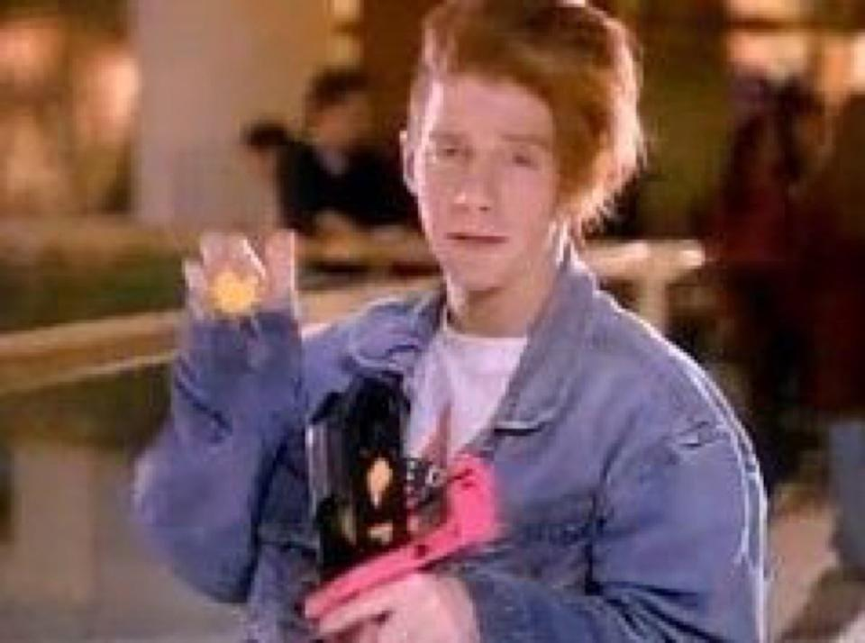 Seth Green in Nerf commercial