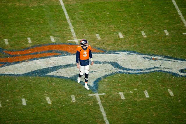 The Broncos might not have to look further for Denver's QB of the future. (Photo by Justin Edmonds/Getty Images)