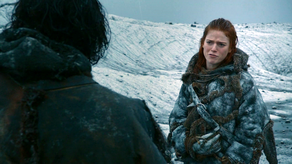 """<p>If your Halloweens are usually on the colder side, then dressing up as Ygritte is perfect — all of that fur will keep you warm enough to go beyond The Wall. </p><p><a class=""""link rapid-noclick-resp"""" href=""""https://www.amazon.com/Adult-Wild-Warrior-Costume-Medium/dp/B07W4DGDJQ?tag=syn-yahoo-20&ascsubtag=%5Bartid%7C10070.g.28762544%5Bsrc%7Cyahoo-us"""" rel=""""nofollow noopener"""" target=""""_blank"""" data-ylk=""""slk:SHOP FURRY JACKET"""">SHOP FURRY JACKET</a> </p>"""