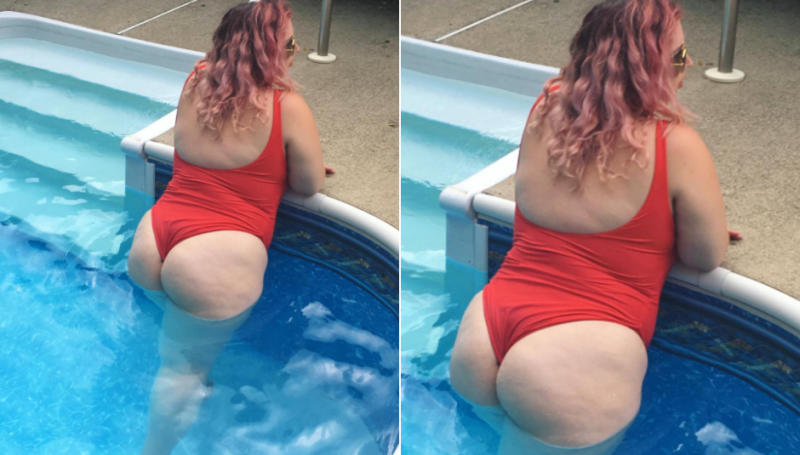 Liz Black is all about body positivity. (Photo: Instagram/psitsfashion)