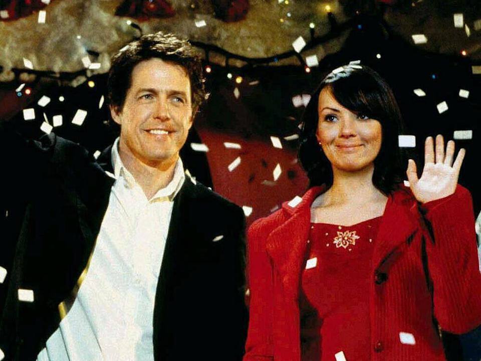 Hugh Grant und Martine McCutcheon in