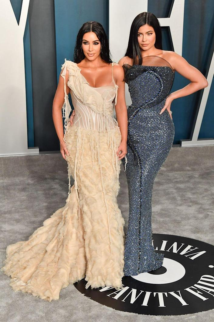 <p>The Kardashian clan is tight-knit, and all of the sisters share similarities, but none more than Kim and Kylie. Despite a 16-year age difference, in many photos they could be mistaken for twins. In 2015, Kylie followed in Kim's entrepreneurial footsteps by launching Kylie Cosmetics. </p>