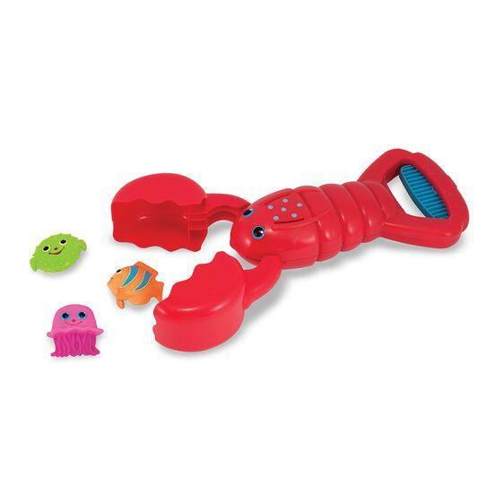 """<p><strong>Melissa & Doug</strong></p><p>Amazon</p><p><strong>$12.89</strong></p><p><a href=""""https://www.amazon.com/Melissa-Doug-Lobster-Catcher-Squeeze/dp/B007FY0JSM/ref=sr_1_1?dchild=1&keywords=Melissa+%26+Doug+Sunny+Patch+Louie+Lobster+Pool+Toy&qid=1621949261&sr=8-1&tag=syn-yahoo-20&ascsubtag=%5Bartid%7C2089.g.1428%5Bsrc%7Cyahoo-us"""" rel=""""nofollow noopener"""" target=""""_blank"""" data-ylk=""""slk:Shop Now"""" class=""""link rapid-noclick-resp"""">Shop Now</a></p><p>This cool toy presents a perfect challenge for tots to master in the baby pool. The squeeze-and-release lobster is easy to use, and <em>your</em> little lobster will love catching all the fishies in its claws.</p>"""