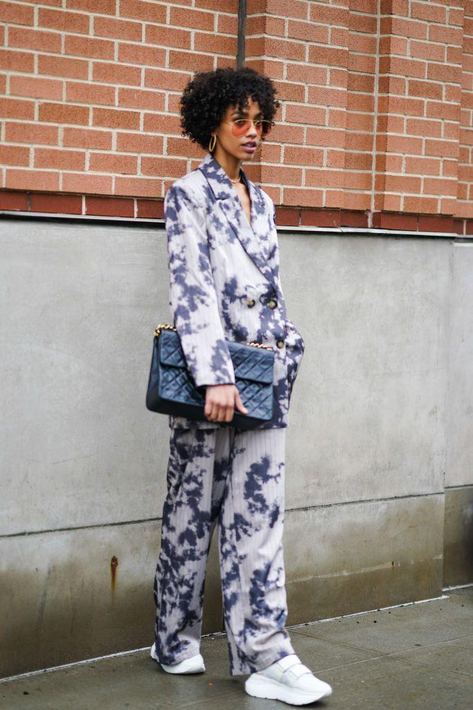 """<p>Yeah, that tie-dye summer vibe? We're just gonna keep it going. Do the trend in darker tones for your cool weather looks.</p><p><strong>What you'll need:</strong> <em>Sky Blazer, $55, Fashion Nova</em></p><p><a class=""""link rapid-noclick-resp"""" href=""""https://www.fashionnova.com/products/sky-blazer-blue"""" rel=""""nofollow noopener"""" target=""""_blank"""" data-ylk=""""slk:SHOP HERE"""">SHOP HERE</a></p>"""
