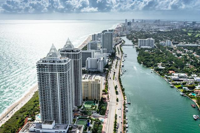 Fort Lauderdale is nicknamed the Venice of America due to the city's Venetian style Intracoastal waterways