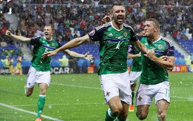 <span>Nother Ireland's performance at Euro 2016 was one of the stories of the tournament</span> <span>Credit: Rex Features </span>
