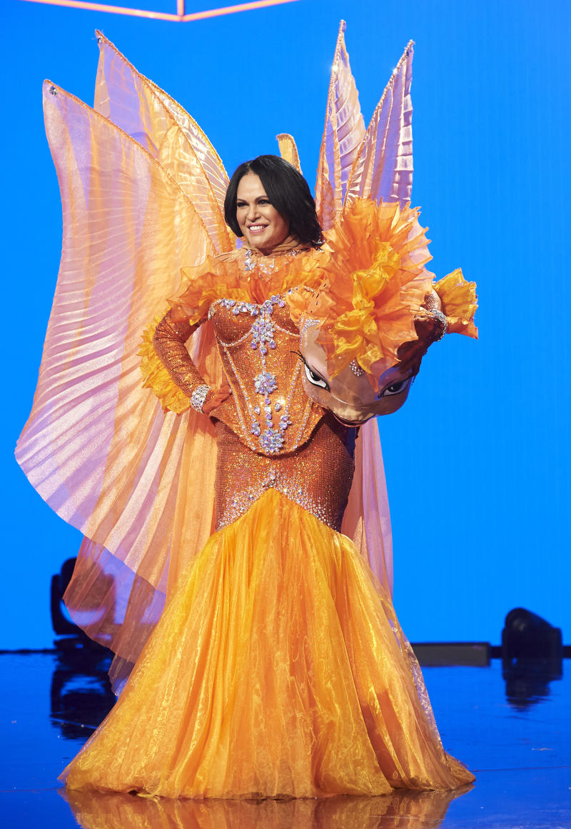 Christine Anu as Goldfish on The Masked Singer