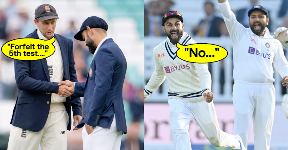 India vs England 2021: ECB Asks India To Forfeit Manchester Test Amid Covid-19 Cloud; BCCI Says No
