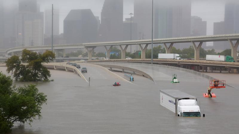Houston Police Sergeant Drowns Trying To Get To Work During Hurricane Harvey