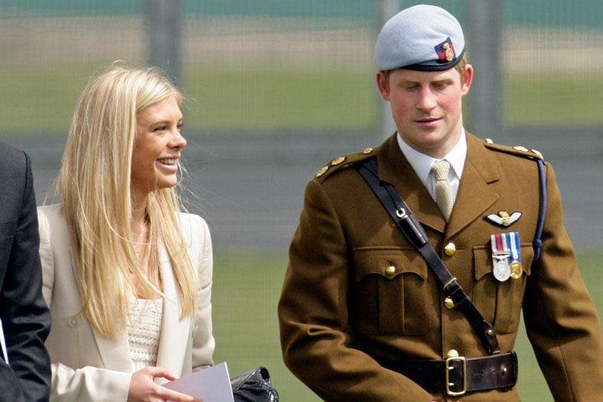 The South African blonde was Prince Harry's first love. The pair met through friends in 2004 and dated on and off for six years. Chelsea went to Prince William's and Kate Middleton's wedding as Harry's plus one, but that was the last event the pair publicly attended together.
