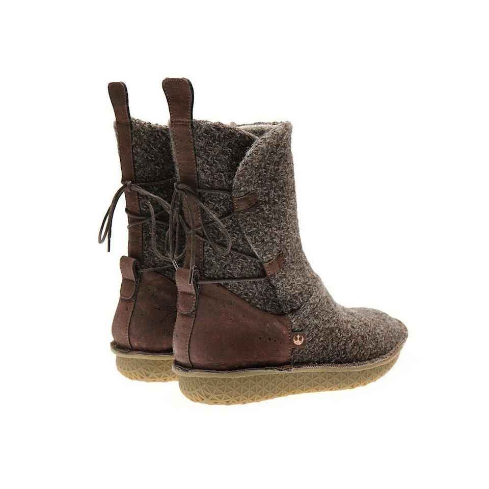 <p>Inspired by Rey's iconic mid-calf boot, as featured in 'Star Wars: The Force Awakens'. (Po-Zu) </p>
