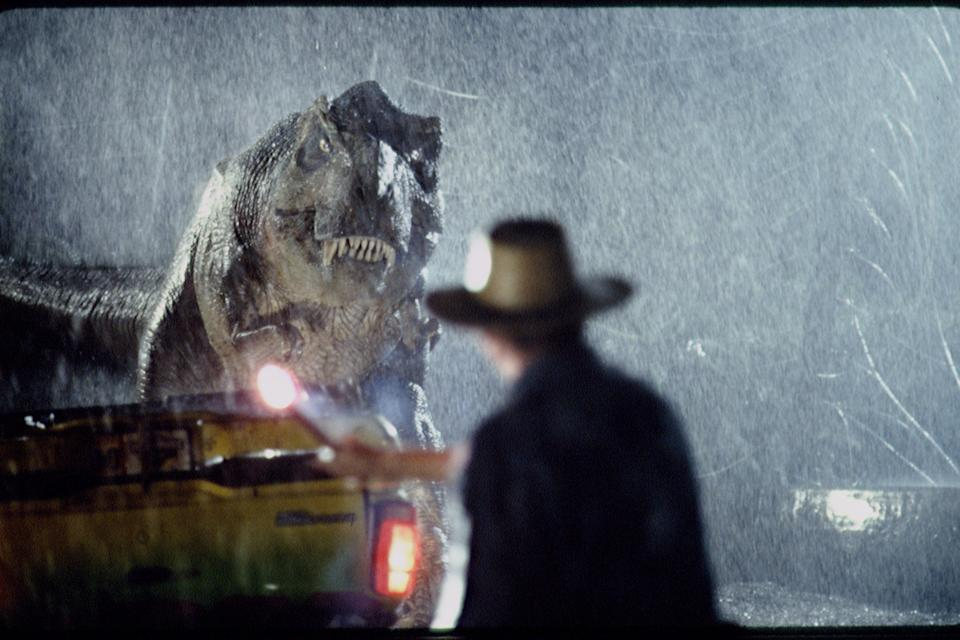 Scene from 1993 motion picture Jurassic Park (Photo by Murray Close/Sygma/Sygma via Getty Images)