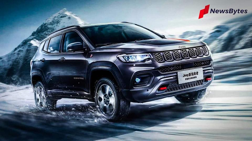 Ahead of launch, Jeep teases Compass (facelift) SUV in India