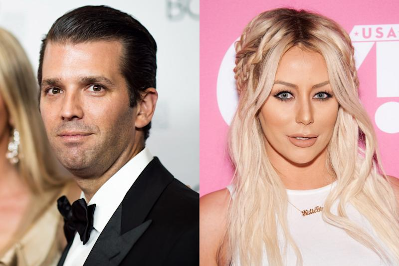 Donald Trump Jr. Reportedly Had an Affair with   Celebrity Apprentice Cast Member Aubrey O'Day