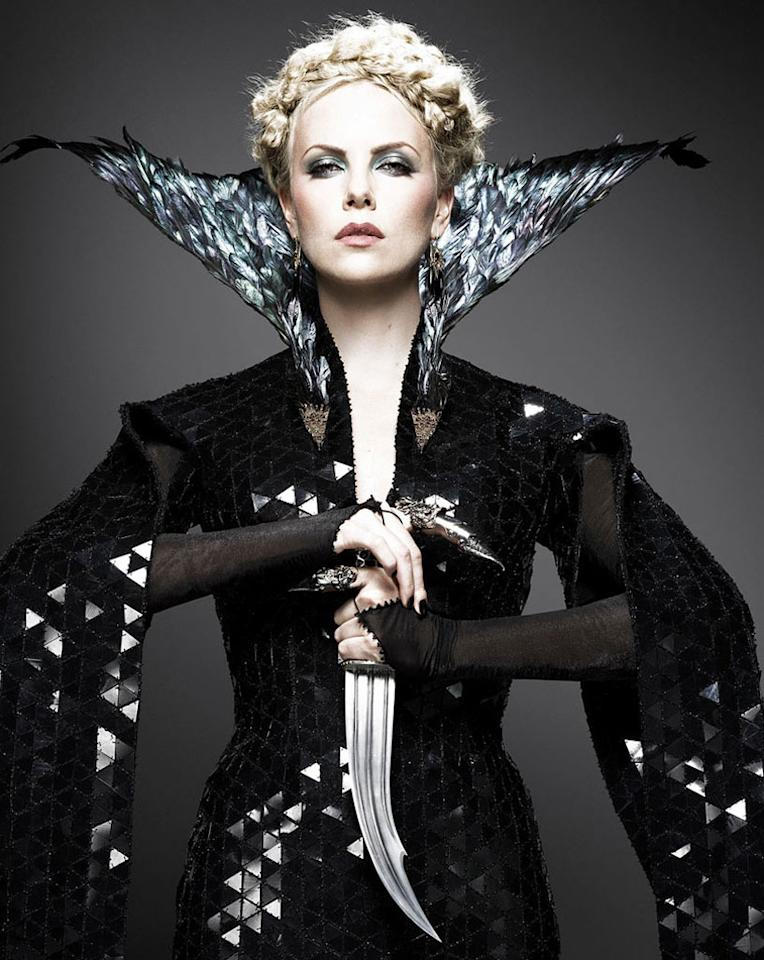 "Charlize Theron in ""Snow White and the Huntsmen"""